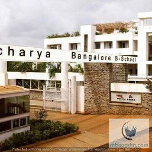 Acharya B School Bangalore ABBS MBA MBAPGDMCOM